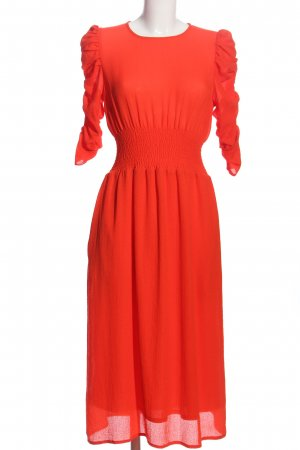 H&M Ballonkleid rot Casual-Look