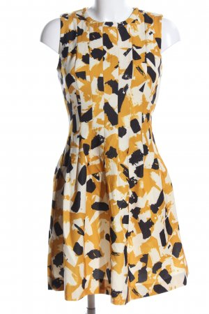 H&M Balloon Dress abstract pattern business style