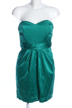 H&M vestido de globo verde look efecto mojado
