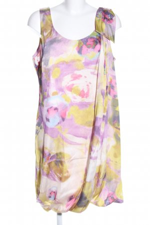 H&M Ballonkleid abstraktes Muster Elegant