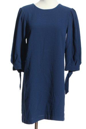 H&M Ballonjurk blauw zakelijke stijl