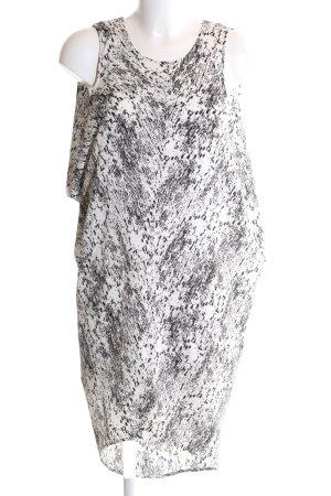 H&M Ballonkleid Allover-Druck Elegant
