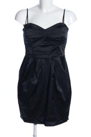 H&M vestido de globo negro elegante