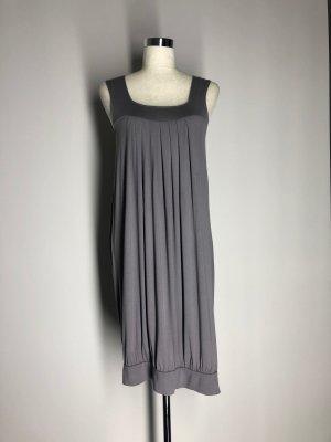 H&M Balloon Dress grey viscose