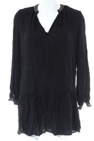 H&M Ballonkleid schwarz Casual-Look
