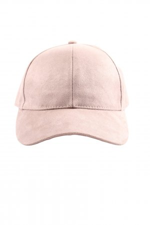 H&M Baker's Boy Cap pink casual look