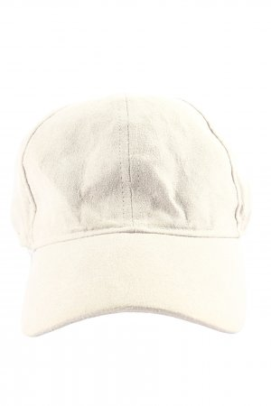 H&M Baker's Boy Cap natural white casual look