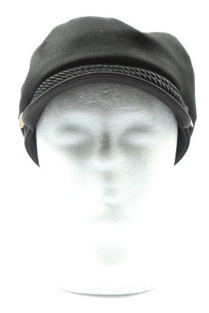 H&M Casquette gavroche noir style décontracté