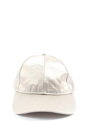 H&M Baseballówka jasnoszary W stylu casual