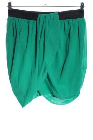 H&M Balloon Skirt green casual look