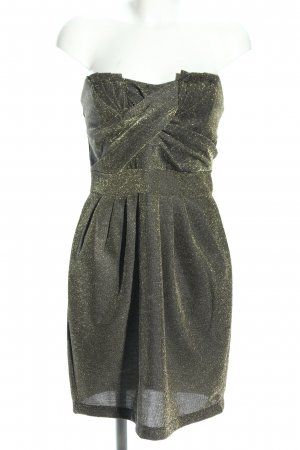 H&M Bandeau Dress khaki elegant