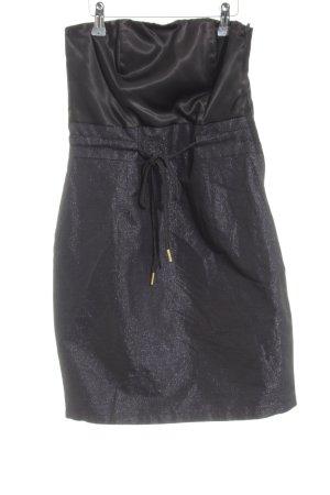 H&M Abito a fascia nero elegante