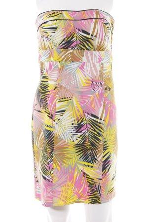 H&M Vestido bandeau estampado floral elegante