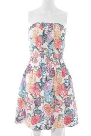 H&M Bandeaukleid florales Muster Elegant