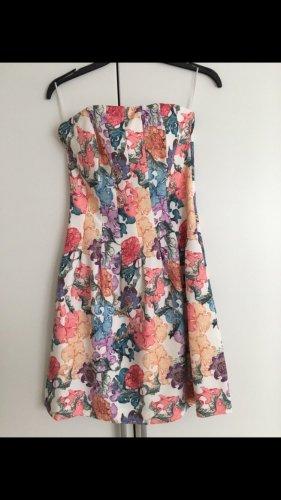 H&M Bandeau Dress multicolored