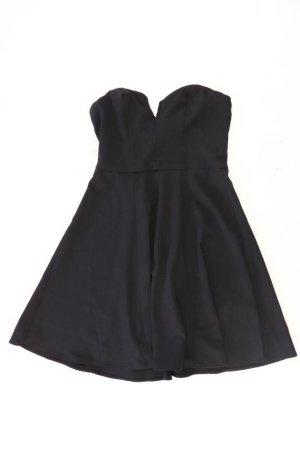 H&M Robe bandeau noir polyester