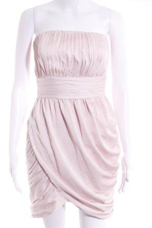 H&M Bandeaukleid hellrosa Elegant