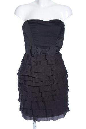H&M Bandeau Dress black casual look