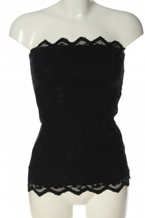 H&M Haut bandeau noir style décontracté