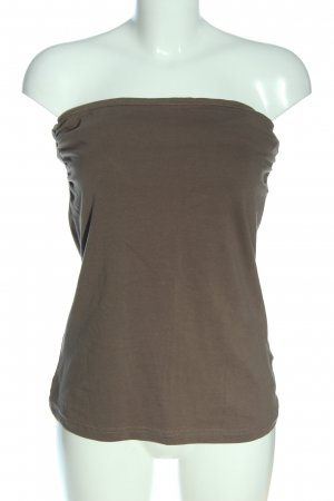 H&M Bandeau top bruin casual uitstraling