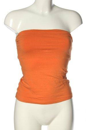 H&M Top a fascia arancione chiaro stile casual