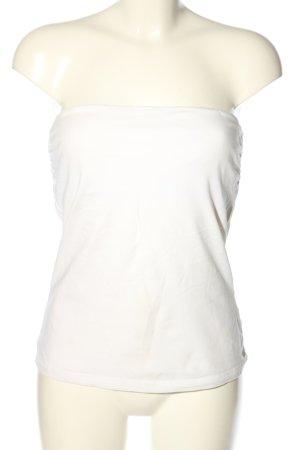 H&M Haut bandeau blanc style décontracté