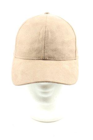 H&M Gorra de béisbol crema look casual