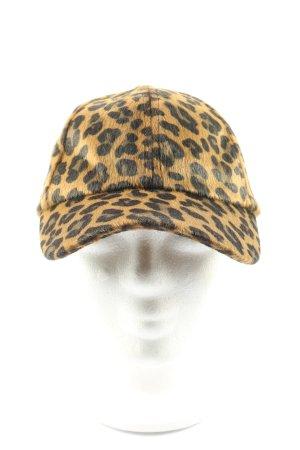 H&M Casquette de baseball motif léopard style décontracté