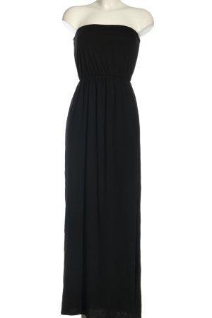 H&M Basic Abito a fascia nero elegante