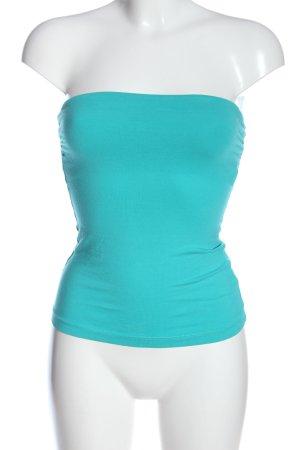 H&M Basic Top a fascia turchese elegante