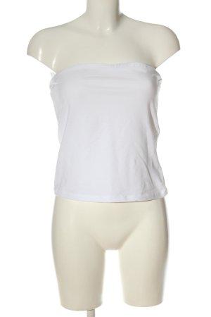 H&M Basic Haut bandeau blanc style décontracté