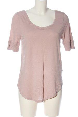 H&M Basic Basic-Shirt pink Casual-Look