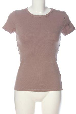 H&M Basic Basic-Shirt braun Casual-Look