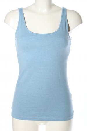 H&M Basic Basic Top blau Casual-Look