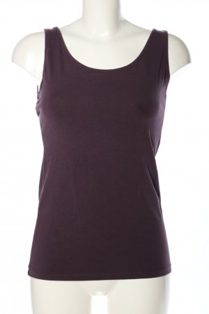 H&M Basic Basic Top lila Casual-Look