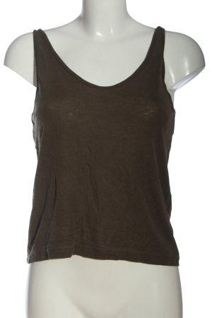 H&M Basic Basic Top braun Casual-Look