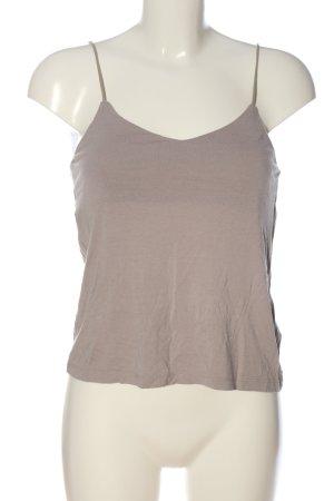 H&M Basic Top basic w kolorze białej wełny W stylu casual
