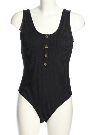 H&M Basic-Body schwarz Casual-Look