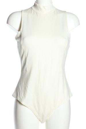 H&M Basic-Body weiß Casual-Look keine Textilangabe