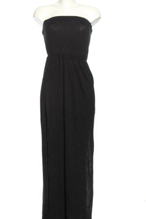 H&M Basic Sukienka gorsetowa czarny W stylu casual