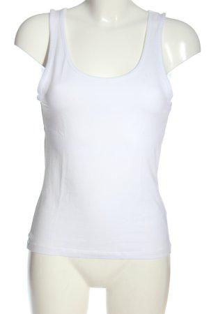 H&M Basic Camisole blanc style décontracté