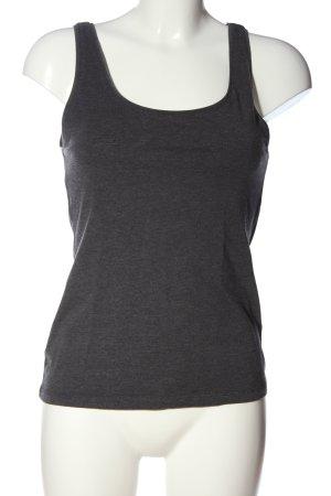 H&M Basic Camisole gris clair moucheté style décontracté