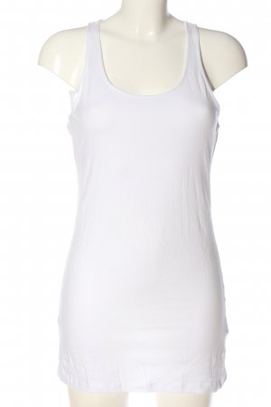 H&M Basic Camisole weiß Casual-Look