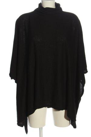 H&M Basic Cape zwart casual uitstraling