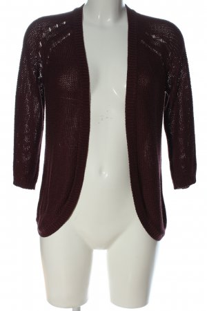 H&M Basic Cardigan rot Casual-Look