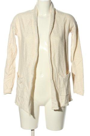 H&M Basic Cardigan creme Casual-Look