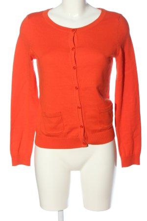 H&M Basic Cardigan hellorange Casual-Look