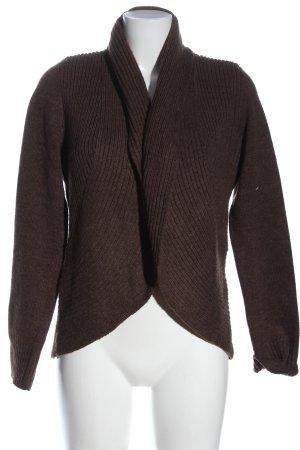 H&M Basic Cardigan braun Casual-Look