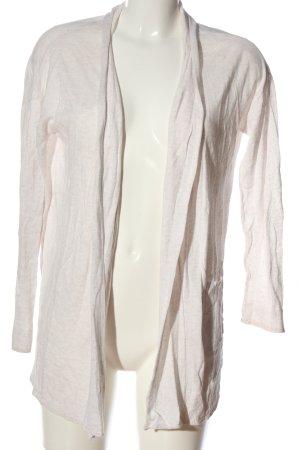 H&M Basic Cardigan weiß Casual-Look