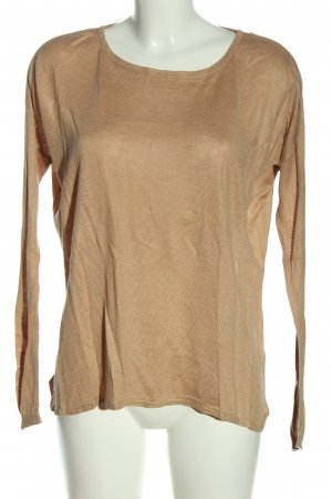 H&M Basic Feinstrickpullover nude Casual-Look